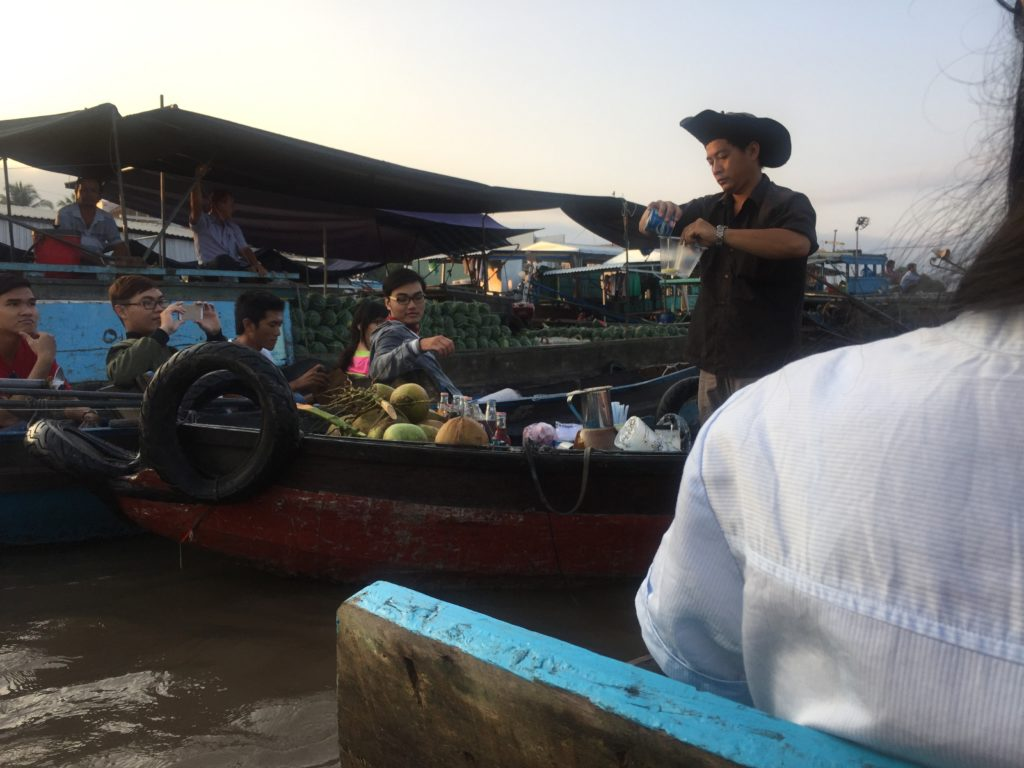 floating market can tho