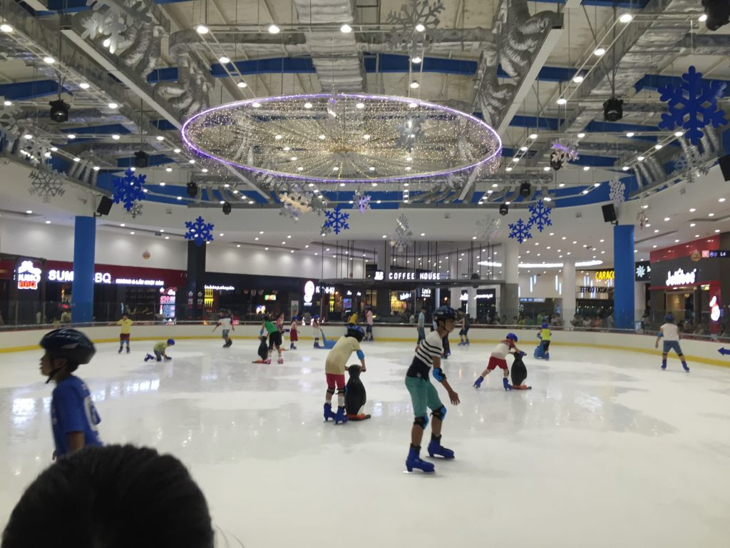 ice skating da nang