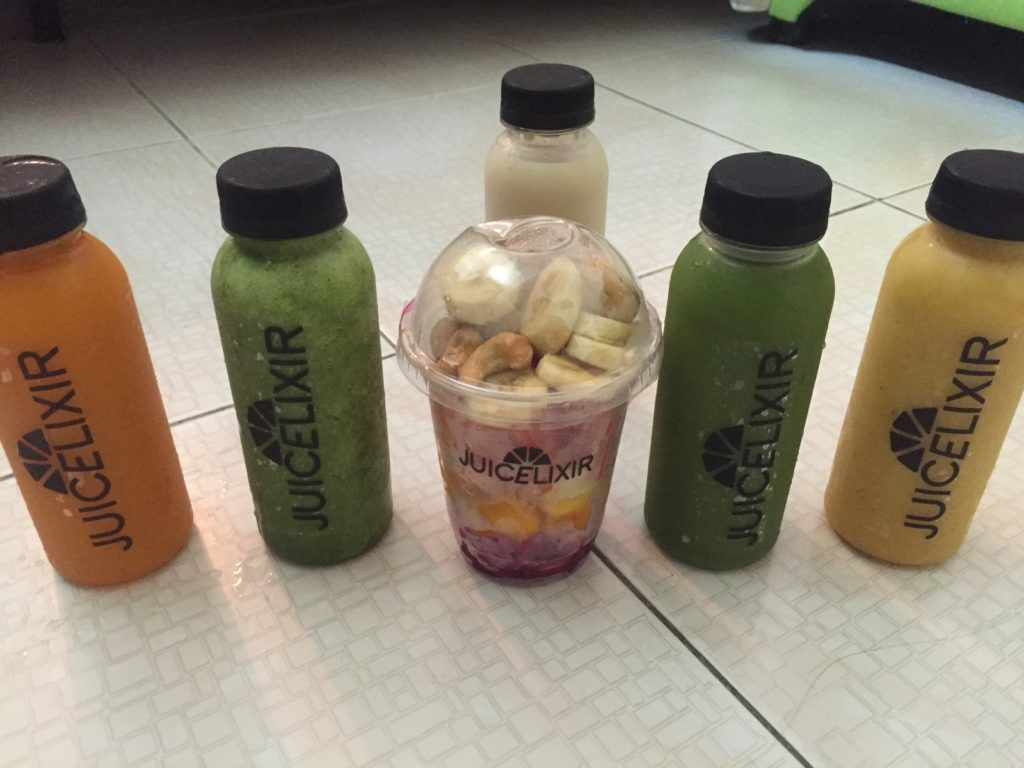 smoothies and juices